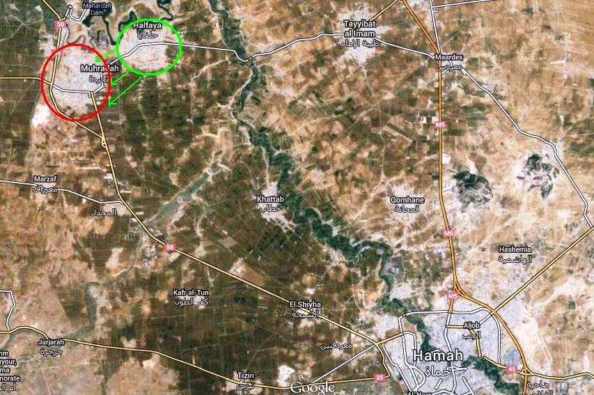 سوریه - حماه - محرده 6 شهریور 1393
