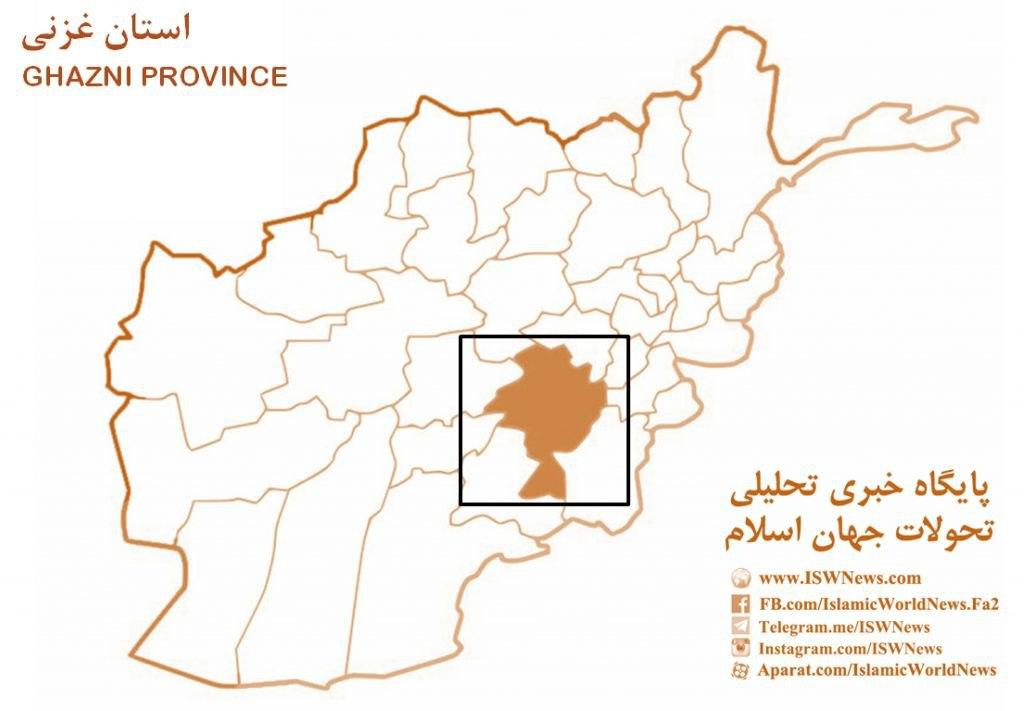 «نقشه استان غزنی»