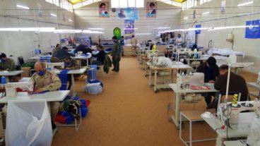 کارگاه تولید ماسک فاطمیون