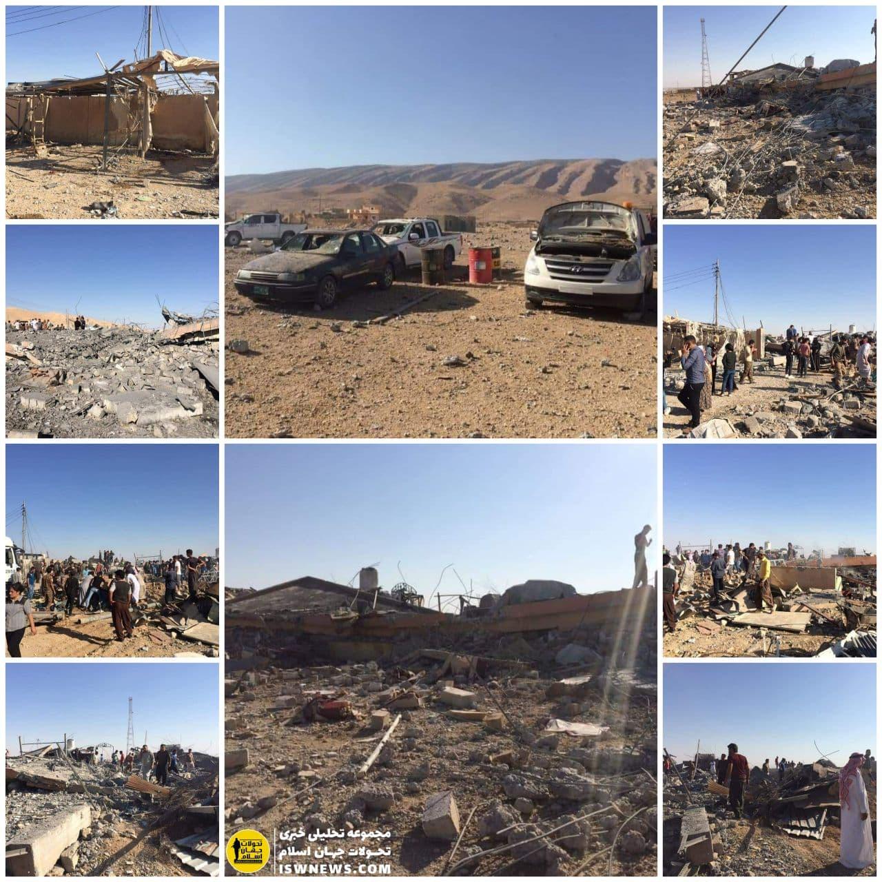 حملات هوایی ترکیه به بیمارستانی در سنجار